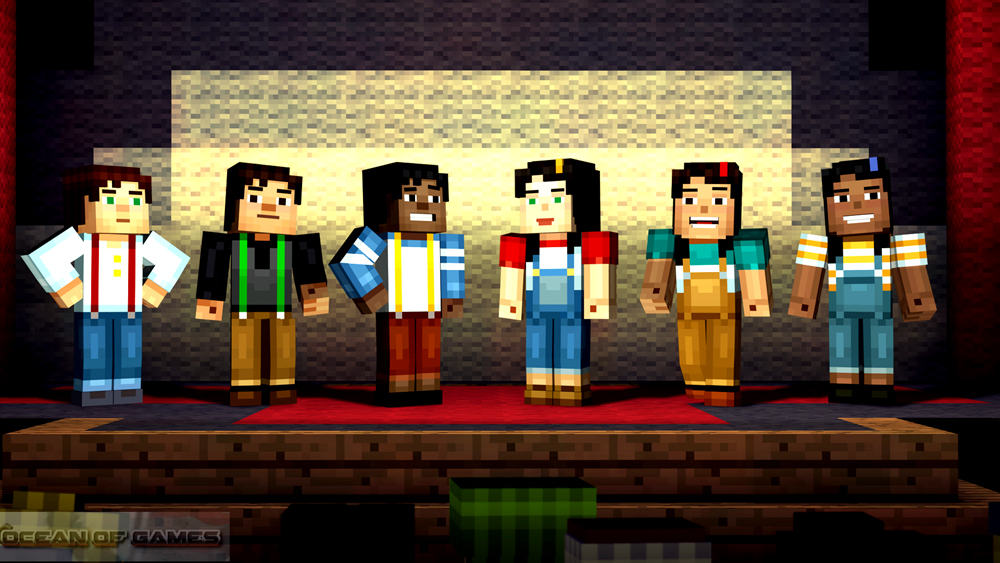 Minecraft Story Mode Episode 1 Features