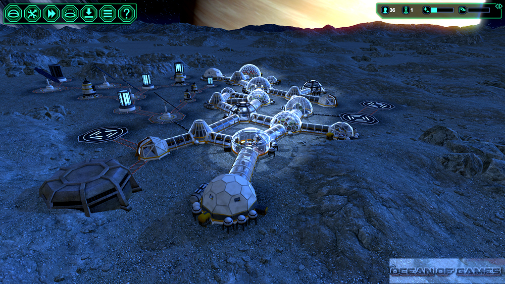 Planetbase PC Game Features