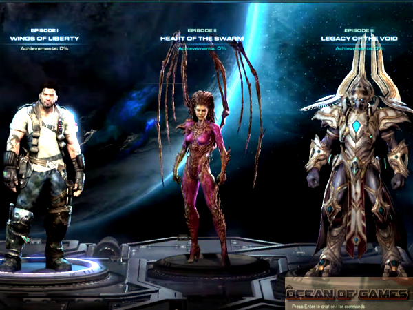 StarCraft II Legacy of the Void Features