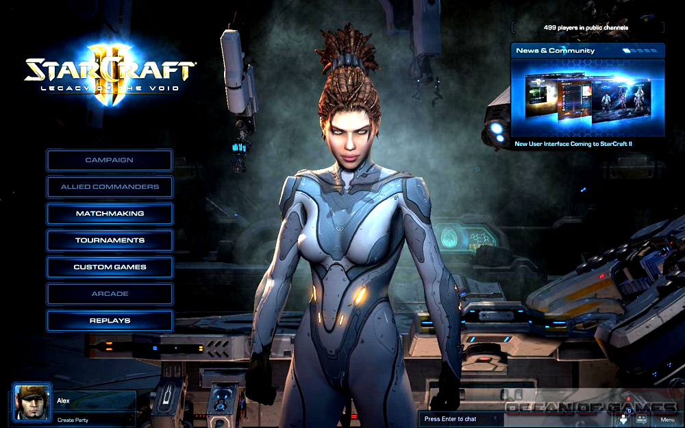 StarCraft II Legacy of the Void Setup Free Download