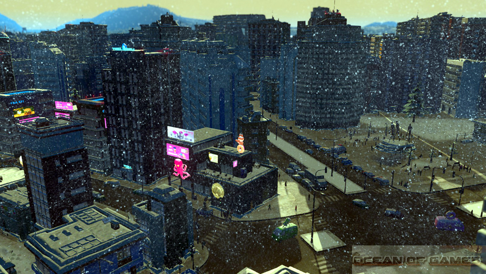 Cities Skylines Snowfall Features
