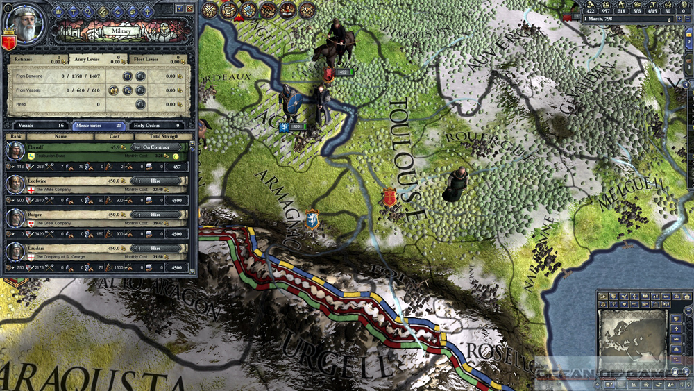 Crusader Kings II Conclave Features