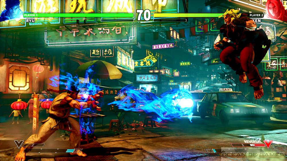 Street Fighter V Setup Download Free