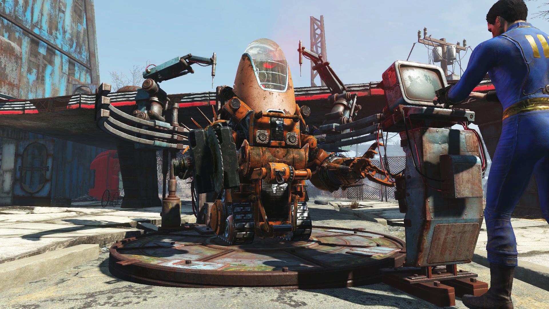 Fallout 4 Automatron DLC Features