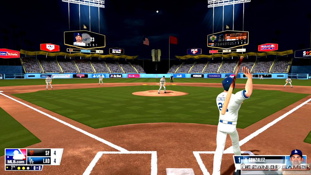 R.B.I. Baseball 2016 Features