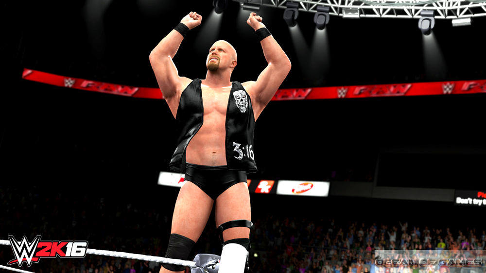 WWE 2K16 Features