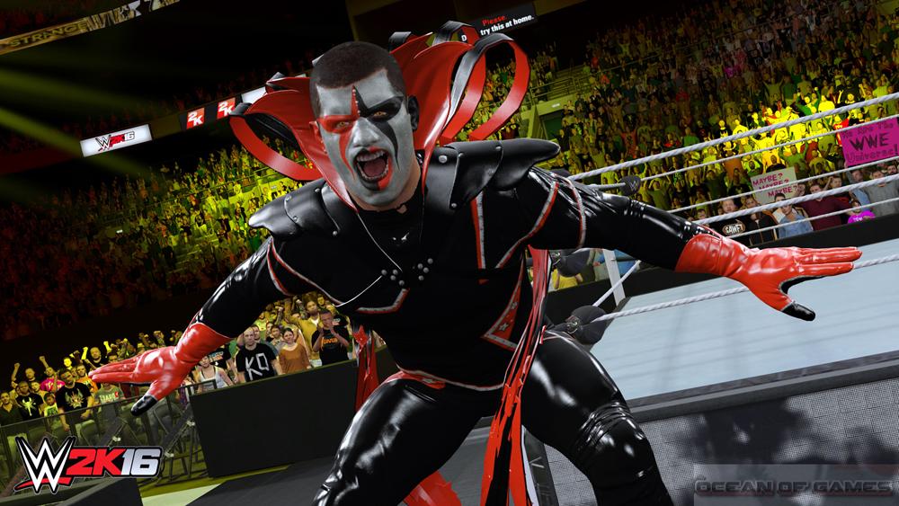 WWE 2K16 Setup Free Download
