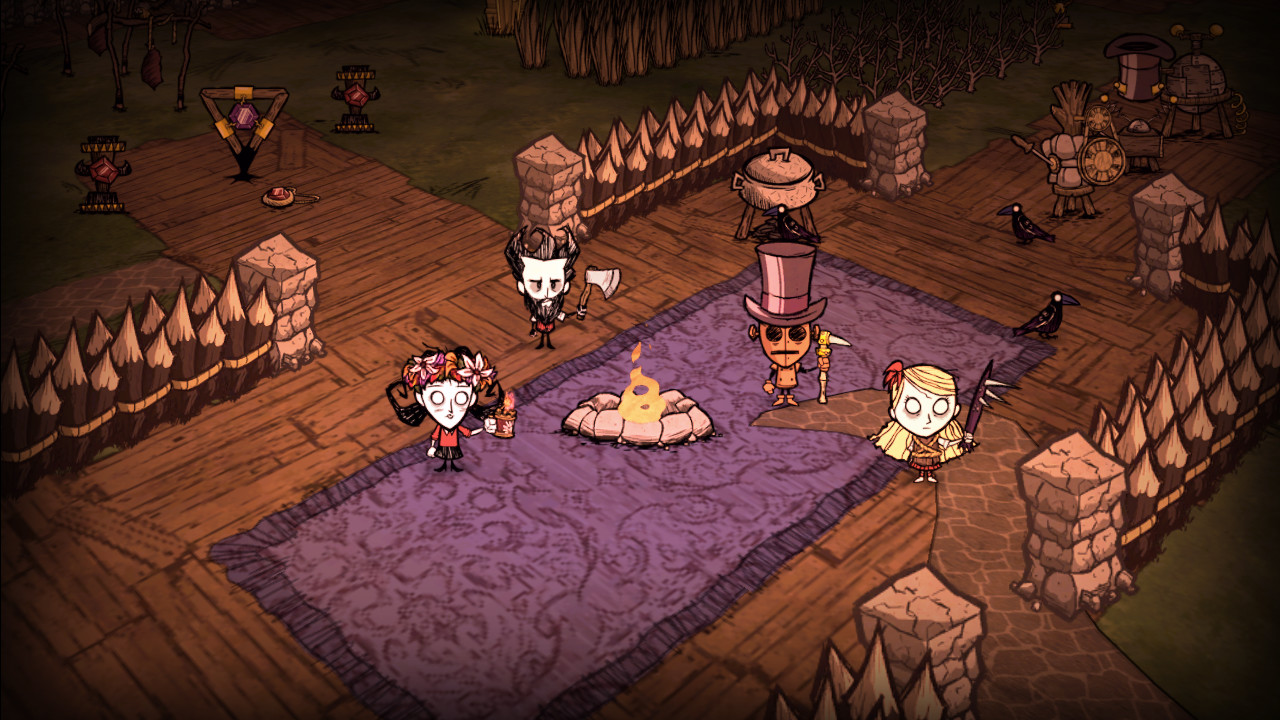 Dont Starve Together Features