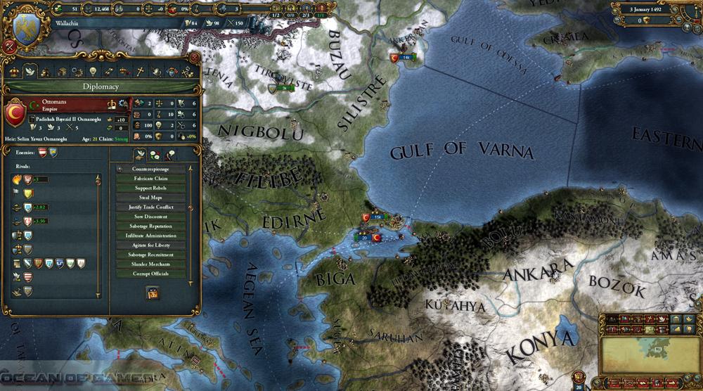 Europa Universalis IV Mare Nostrum Features