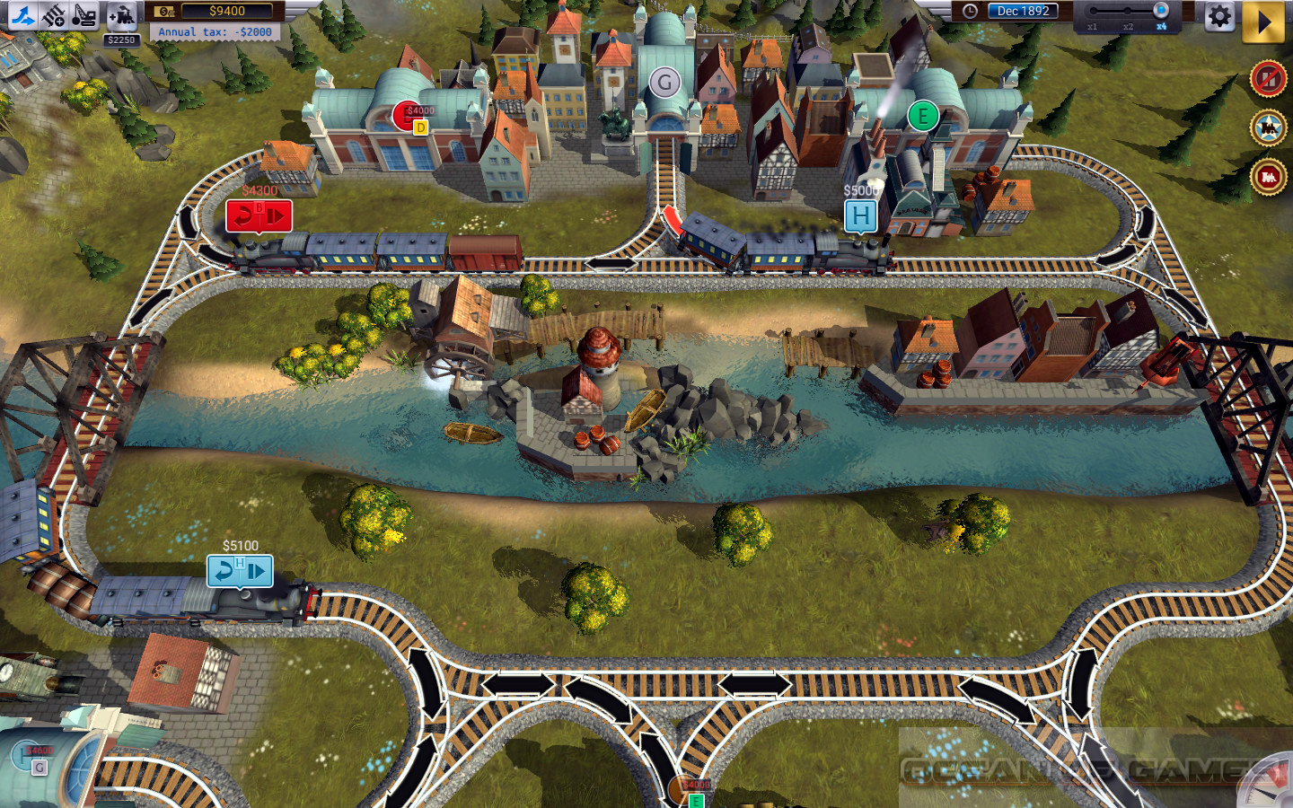 Train Valley Germany Features