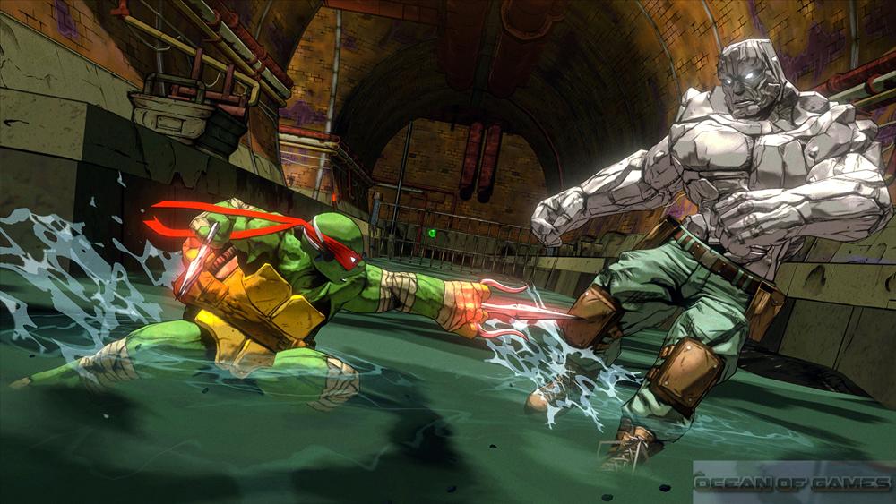 Teenage Mutant Ninja Turtles Mutants in Manhattan Features