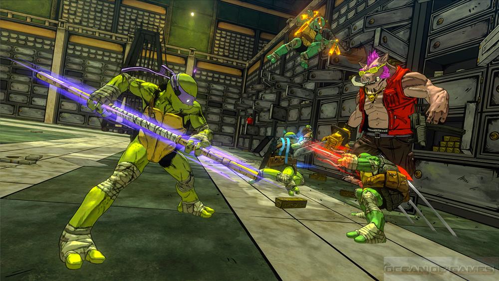 Teenage Mutant Ninja Turtles Mutants in Manhattan Setup Free Download