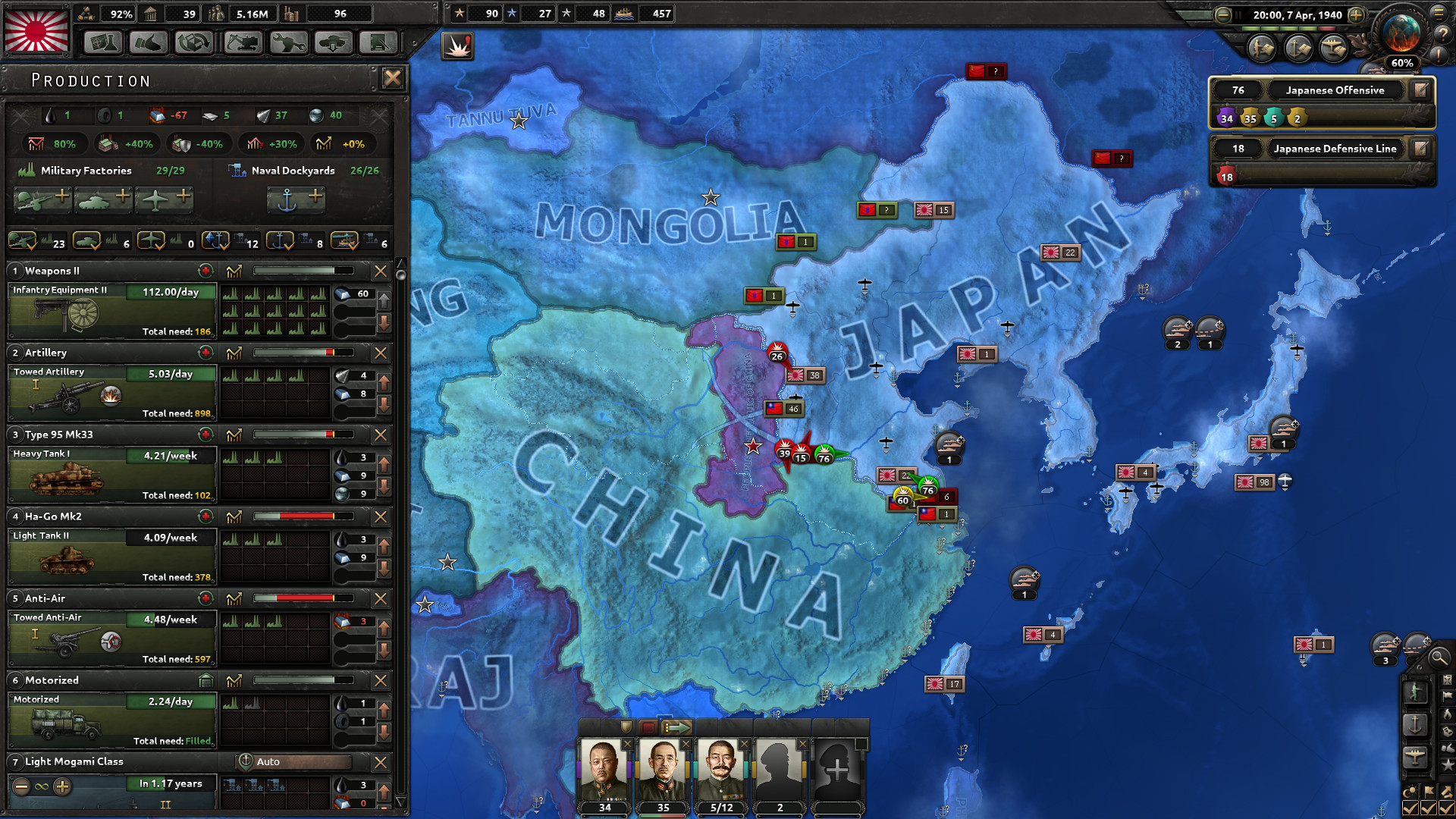 Hearts Of Iron IV Features