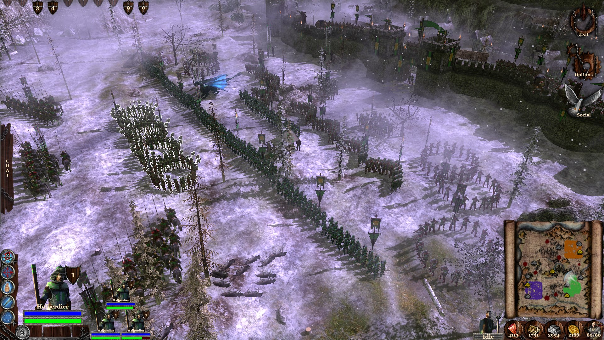 Kingdom Wars 2 Battles The Undead Rising Features