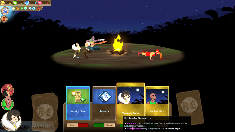 Renowned Explorers More To Explore Features