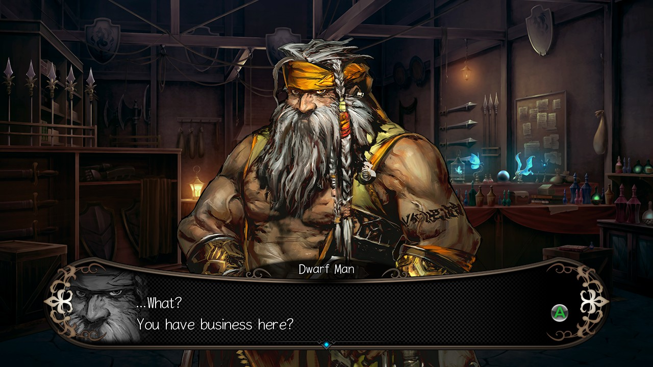 Stranger Of Sword City Features