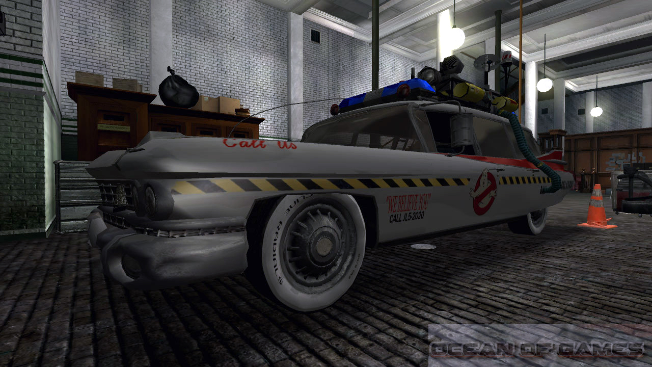 Ghostbusters PC Game Features