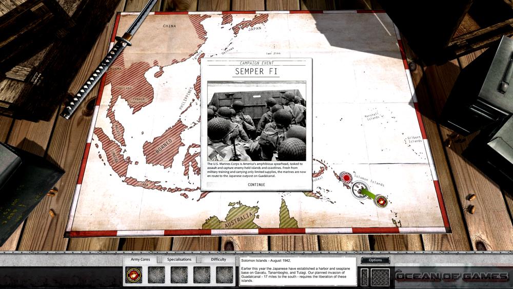 Order of Battle World War II Setup Free Download