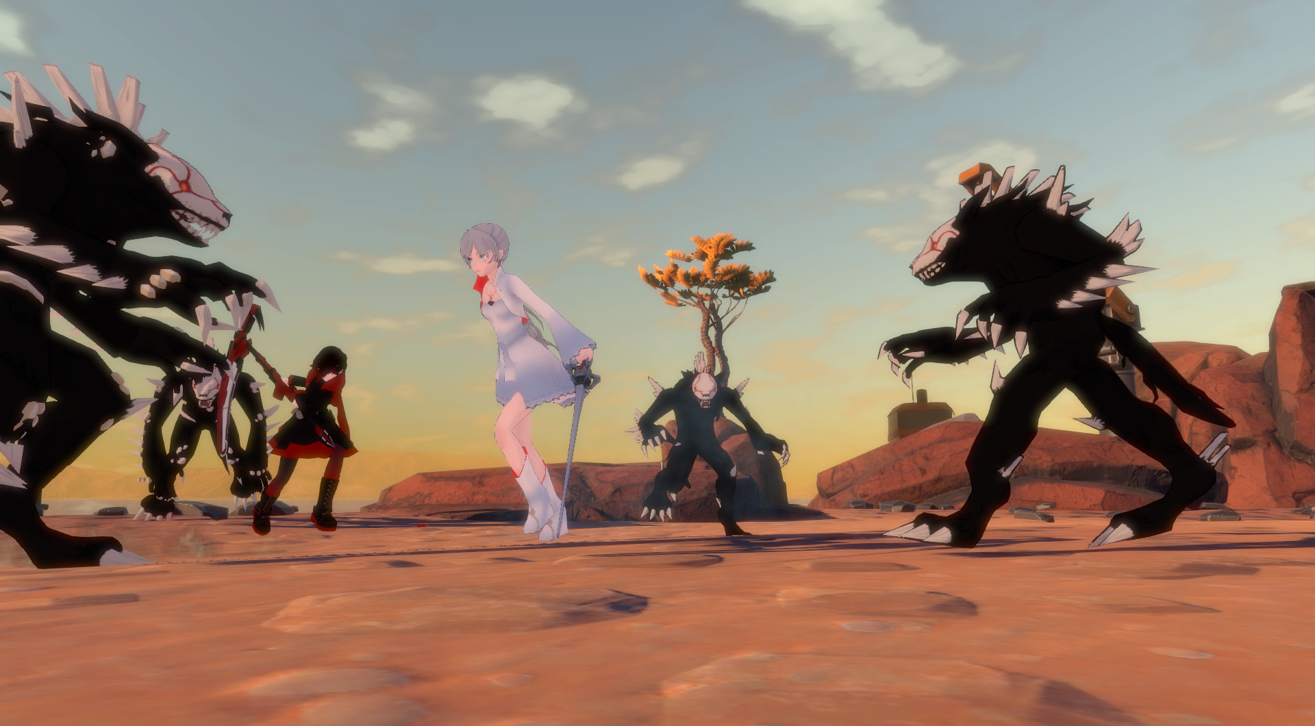 RWBY Grimm Eclipse Features