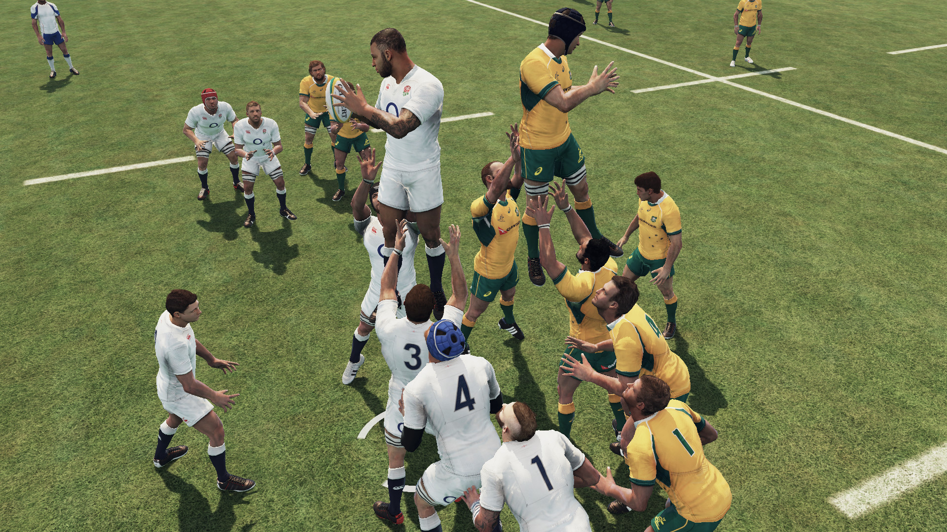 Rugby Challenge 3 Features