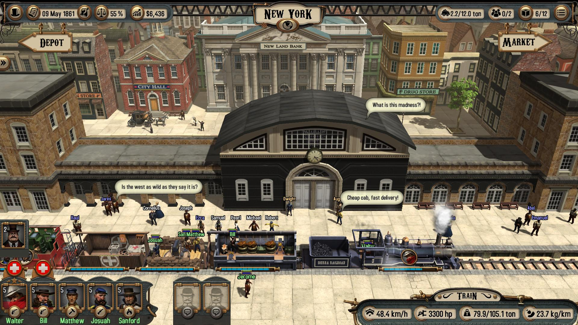 Bounty Train Trainium Edition Features