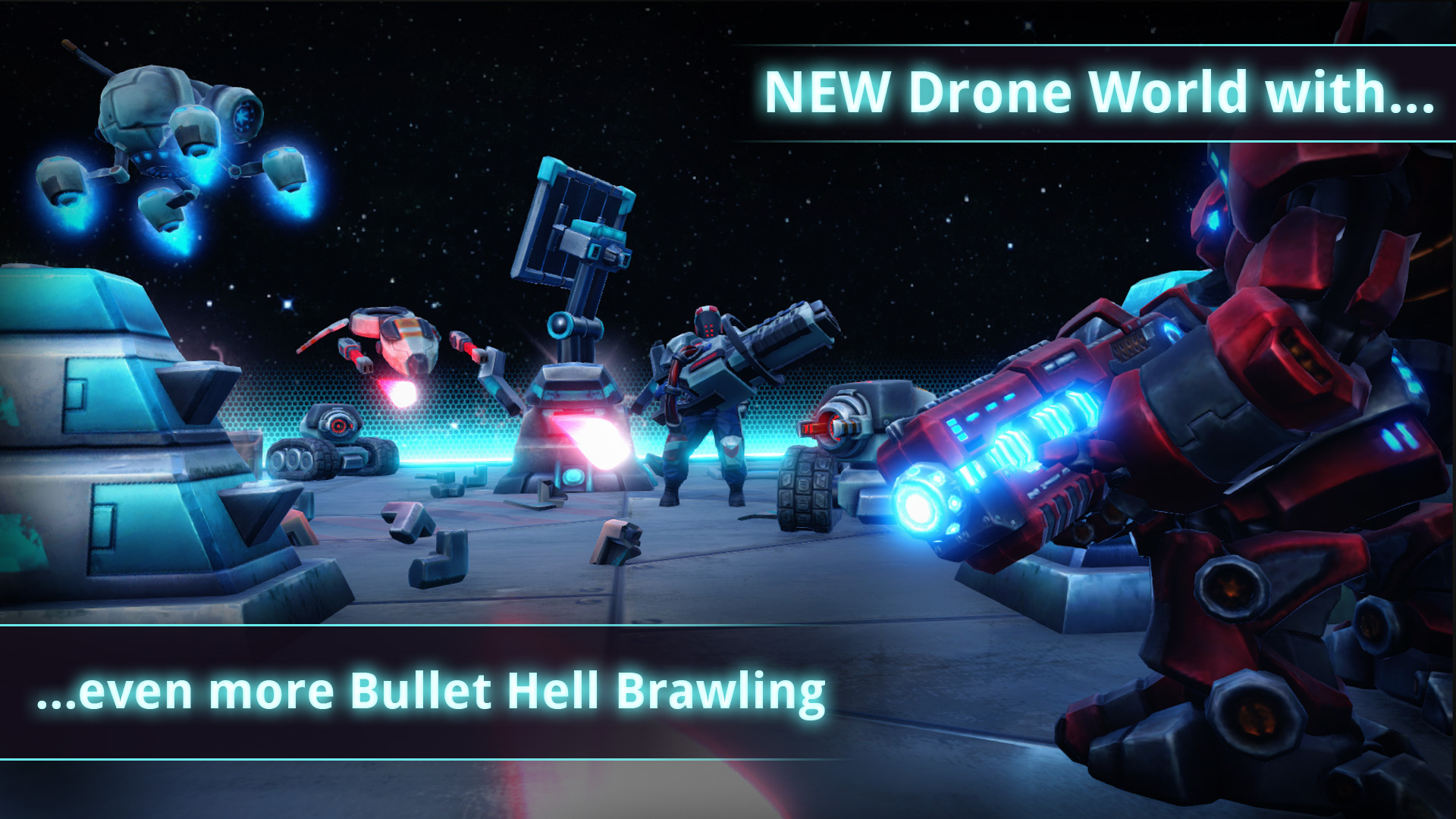 FORCED SHOWDOWN Drone Invasion Download For Free