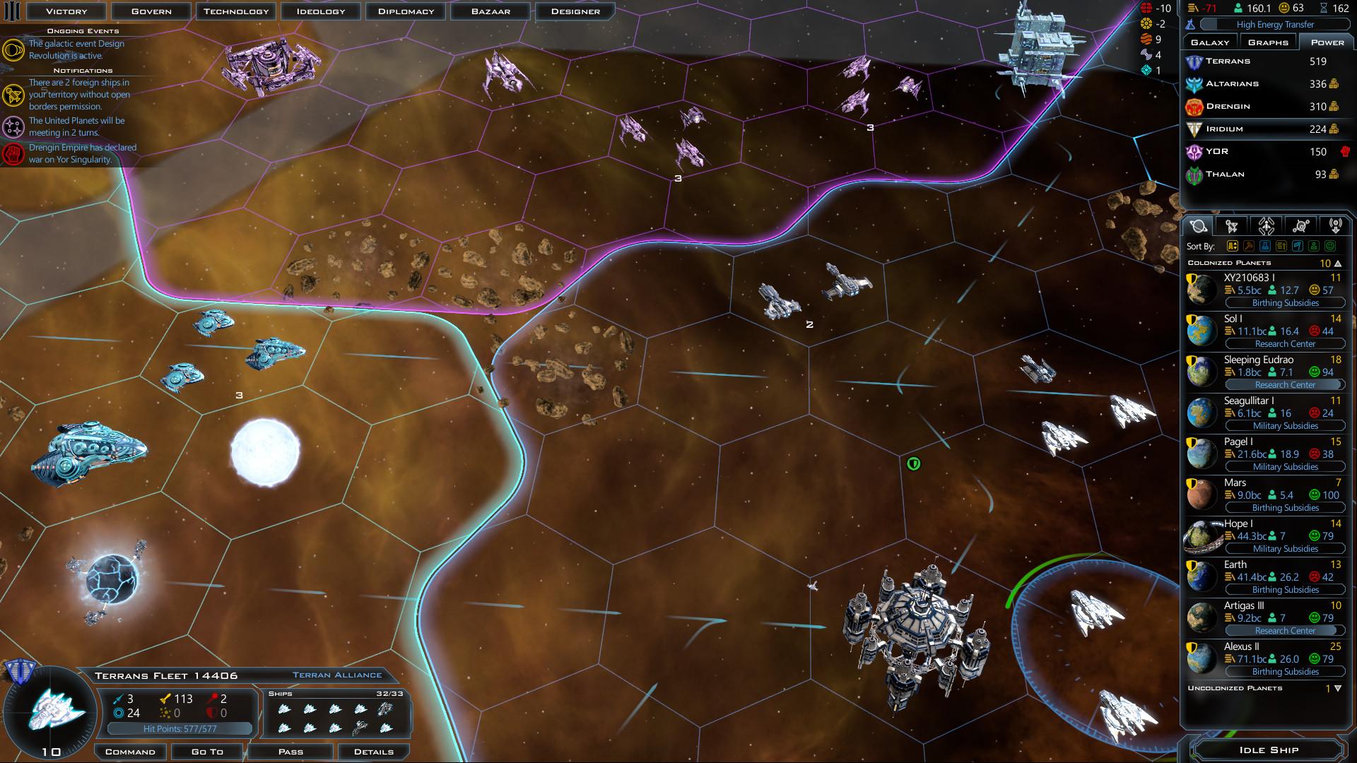 Galactic Civilizations III Lost Treasures Features
