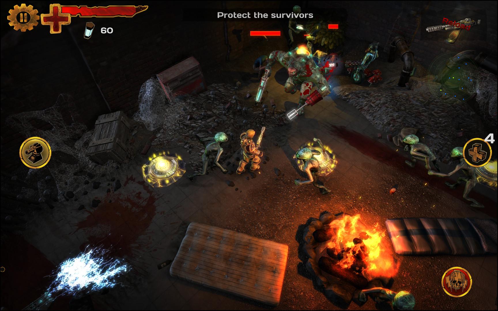 Guns N Zombies N Aliens Features