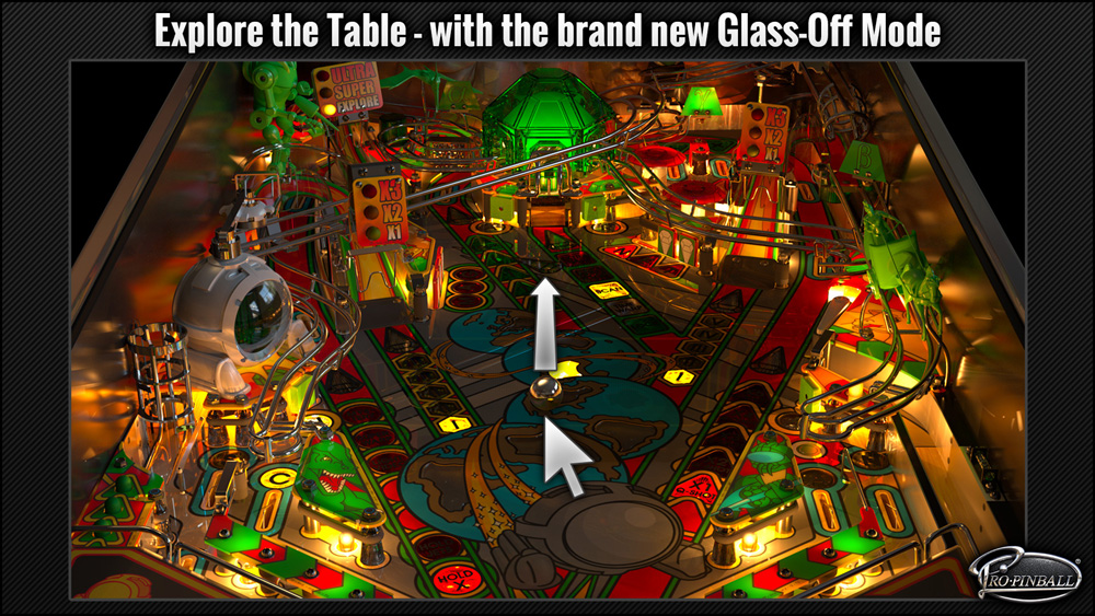 Pro Pinball Timeshock Features