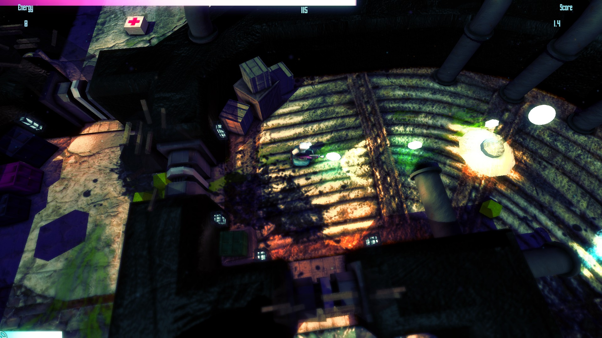 Super Cube Smash Features