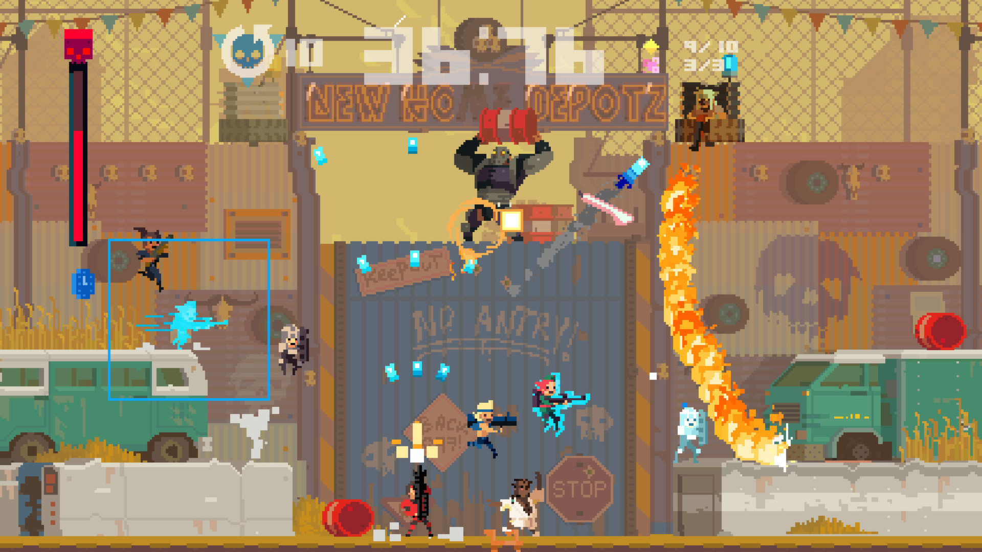 Super Time Force Features