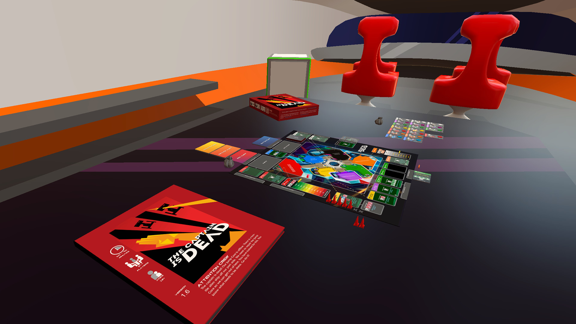 Tabletop Simulator The Captain Is Dead Setup Free Download