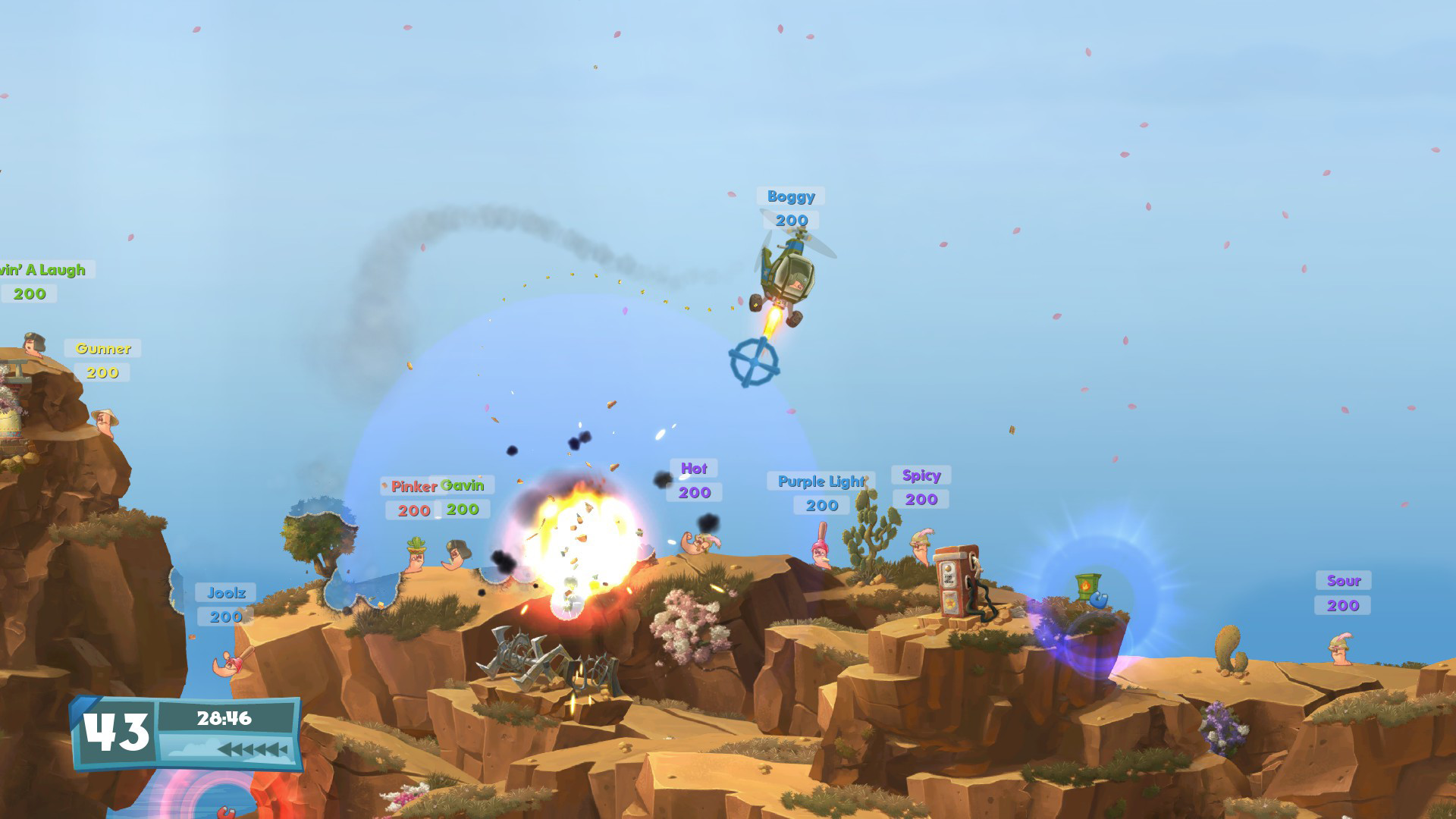 Worms WMD Features