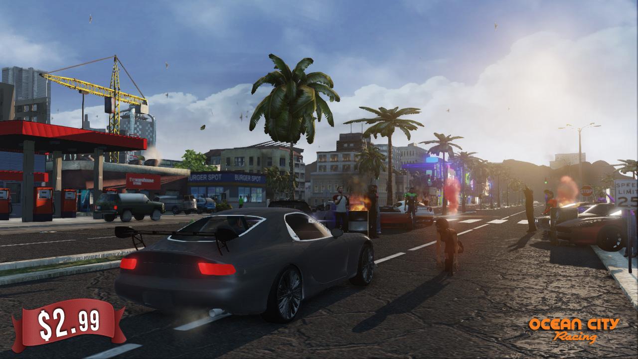 OCEAN CITY RACING Redux Features