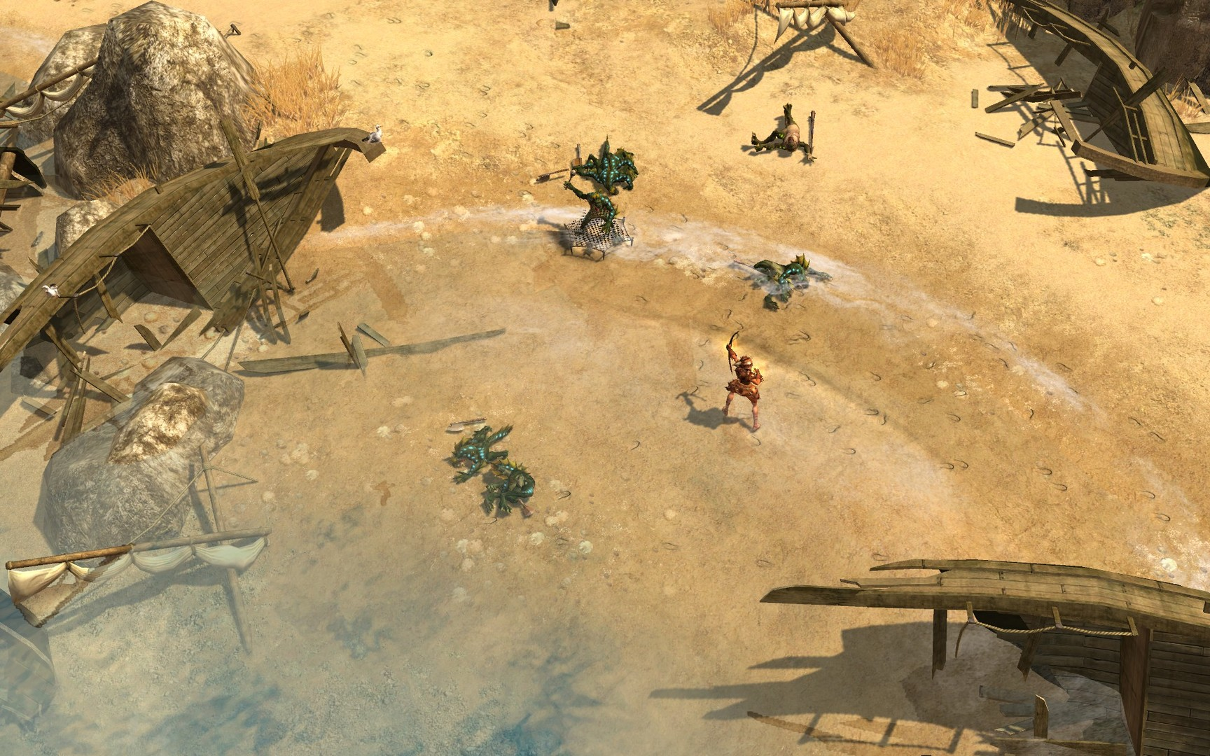 Titan Quest Anniversary Edition Features