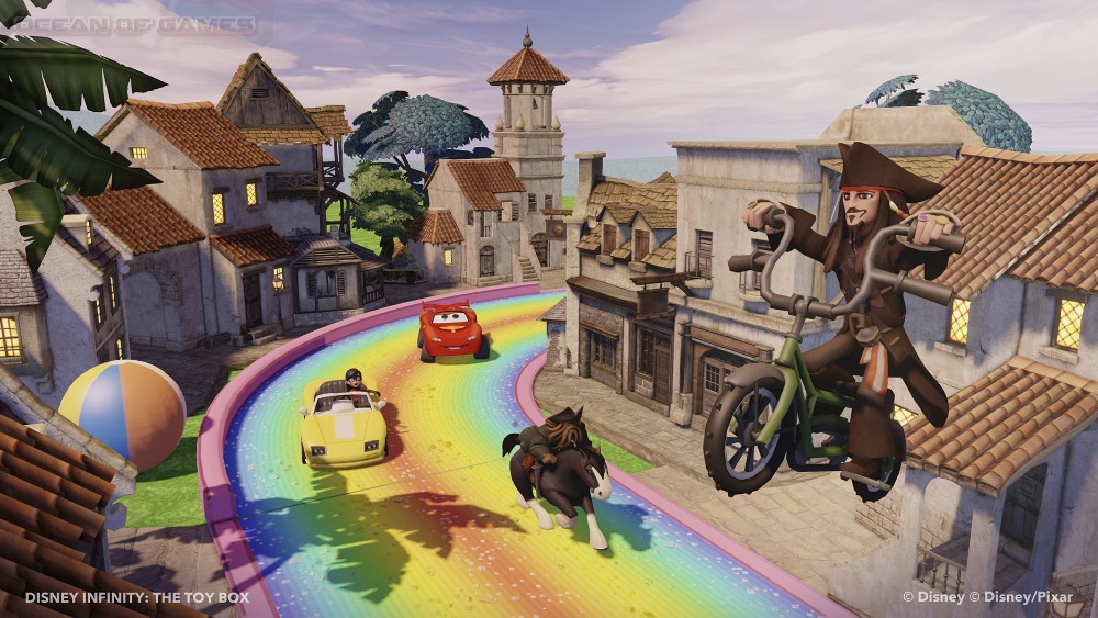 Disney Infinity 1.0 Gold Edition Features