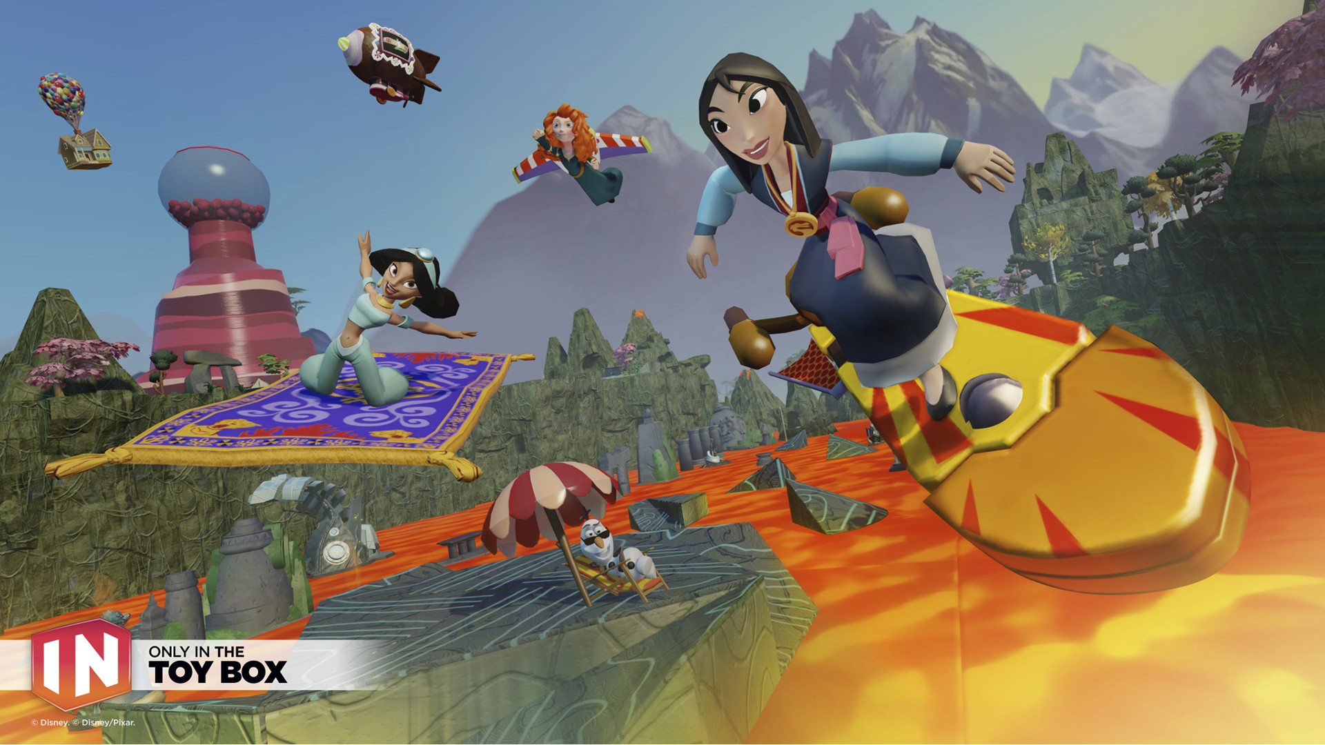 Disney Infinity 3.0 Gold Edition Features