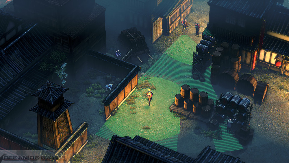 Shadow Tactics Blades of the Shogun Features