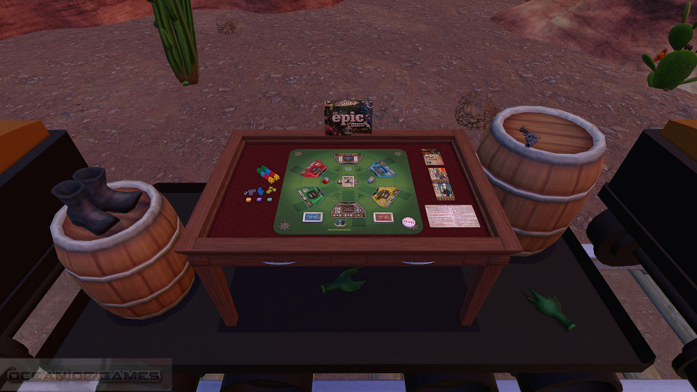 Tabletop Simulator Tiny Epic Western Features