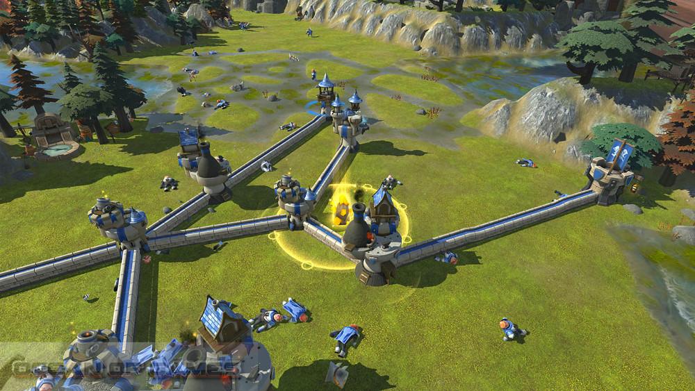 Siegecraft Commander Features