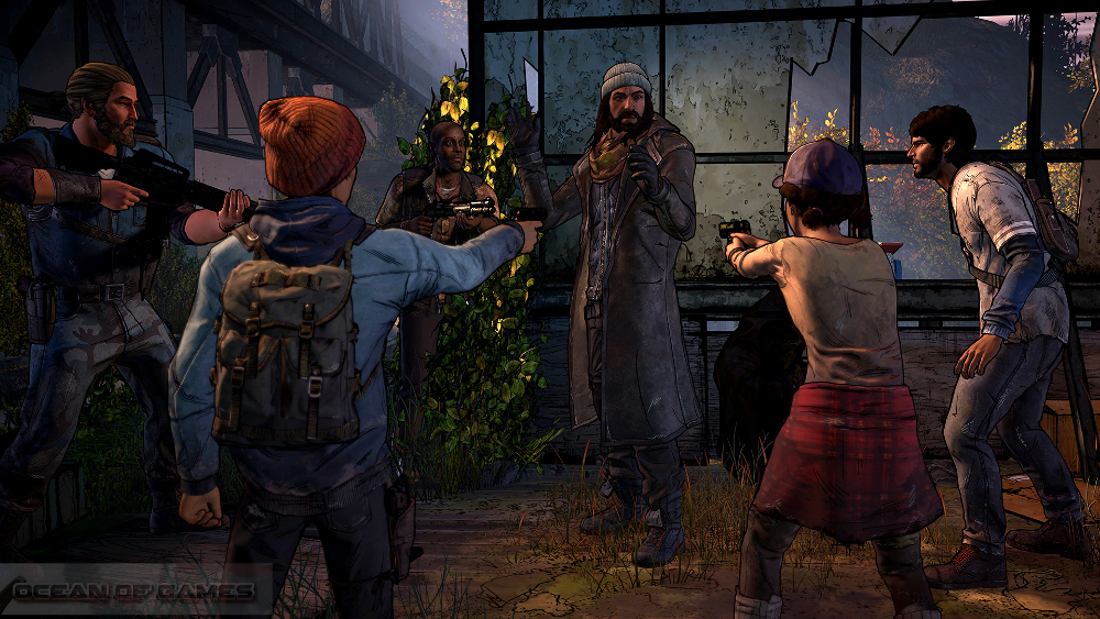 The Walking Dead A New Frontier Episode 2 Features