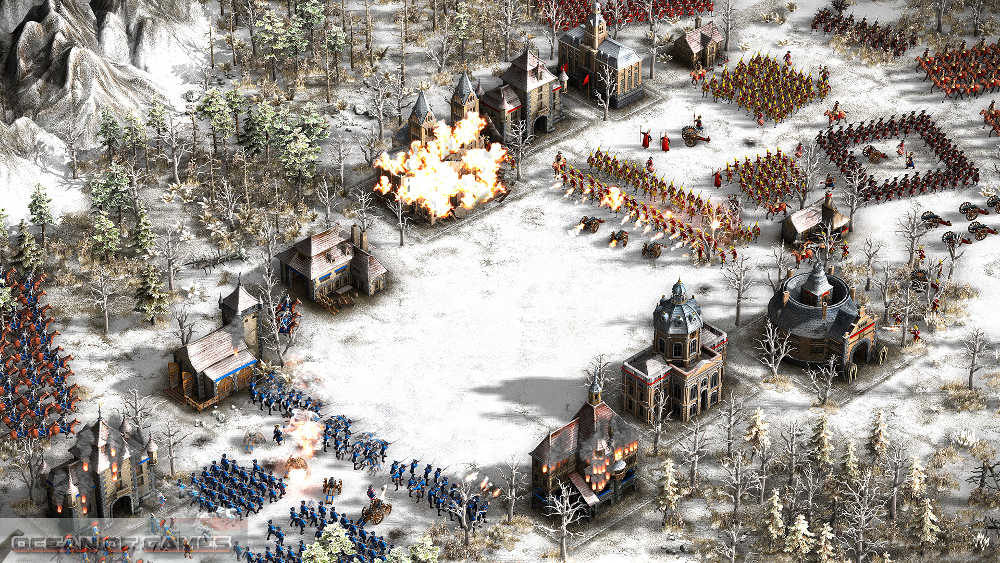 Cossacks 3 Rise to Glory Setup Free Download