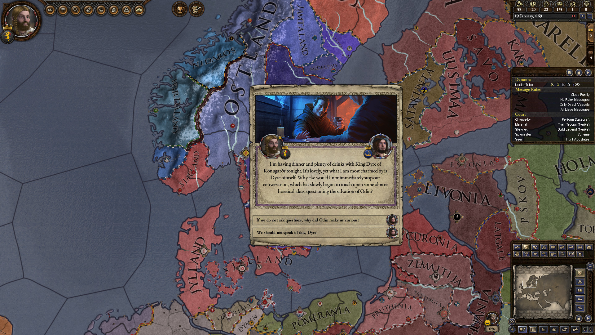 Crusader Kings II Monks and Mystics Features