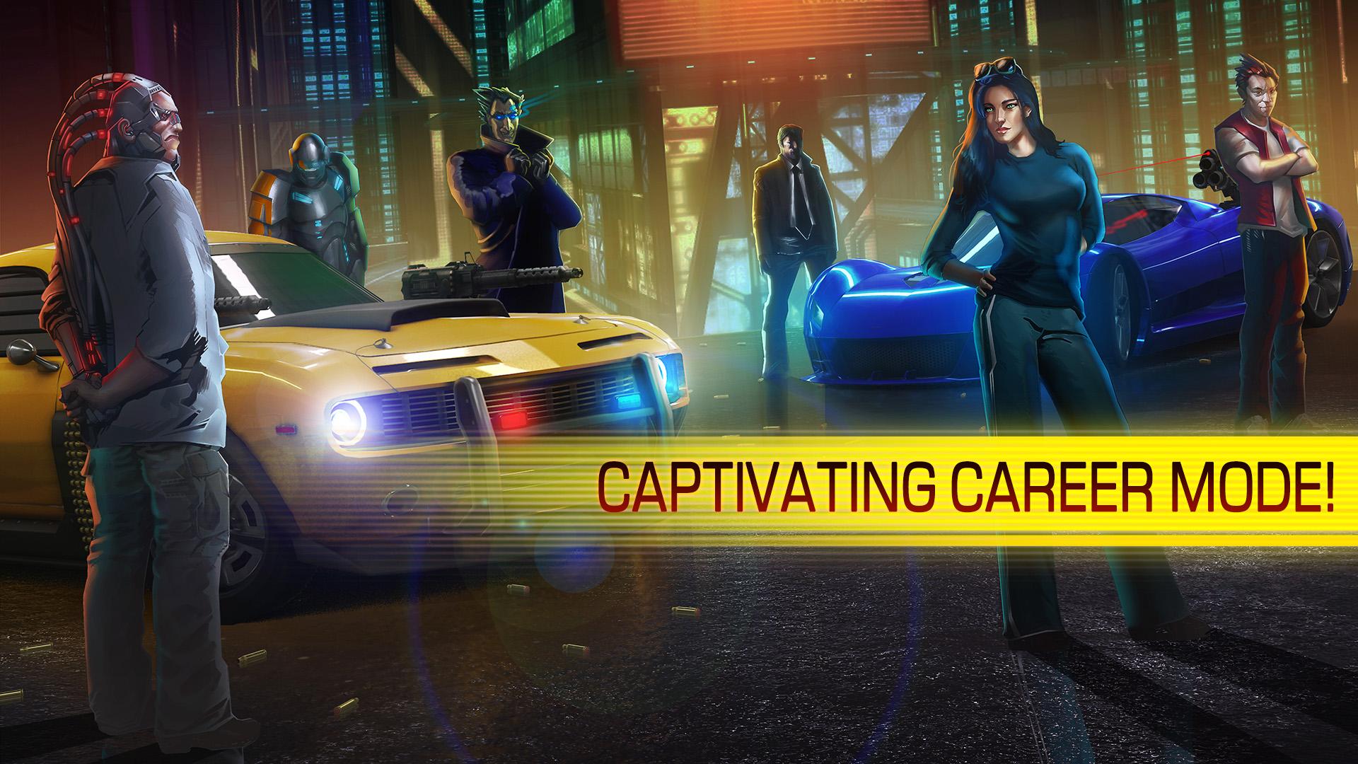 Cyberline Racing Features