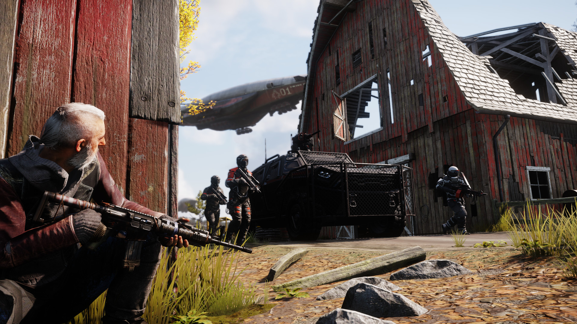 Homefront The Revolution Beyond the Walls DLC Features