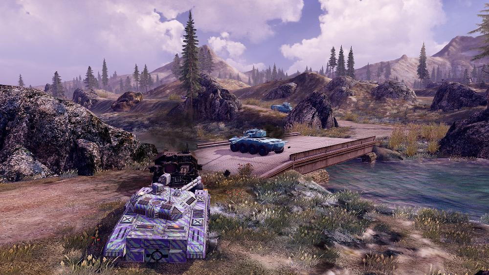 Infinite Tanks Features