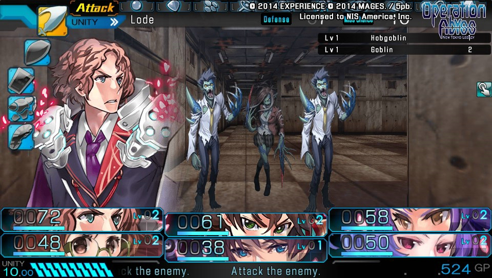 Operation Abyss New Tokyo Legacy Features