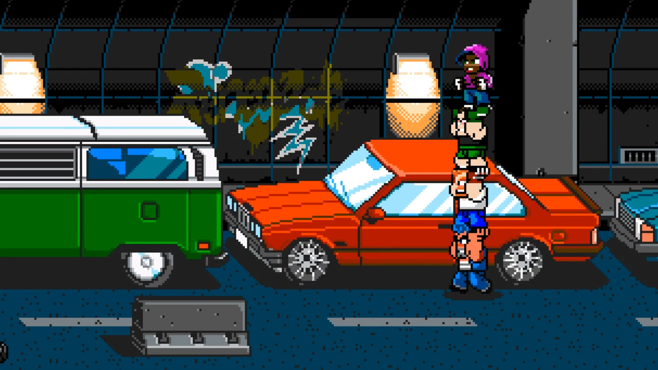 River City Ransom Underground Features