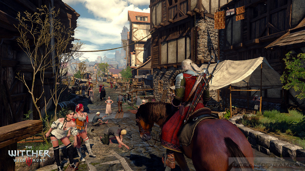 The Witcher 3 Wild Hunt With All Updates Setup Free Download