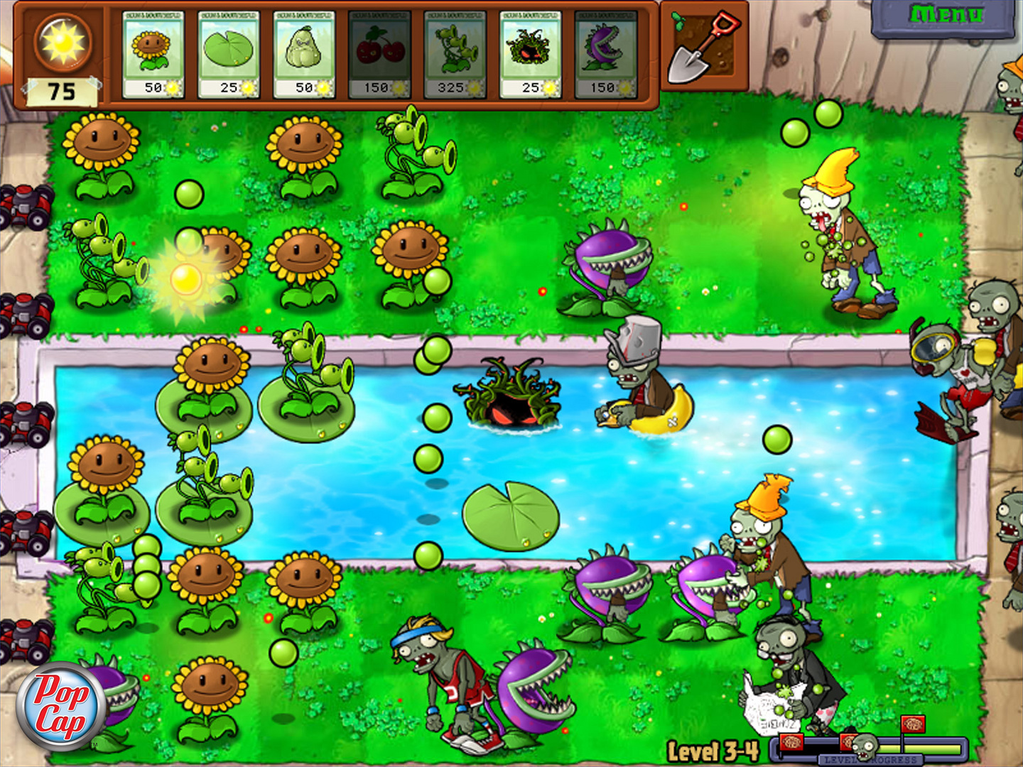 Plants VS Zombies Game Of The Year Features